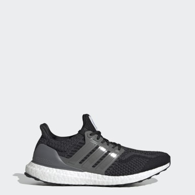 Men Running Black Ultraboost 5.0 DNA Shoes