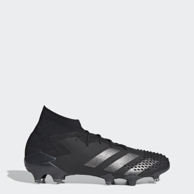 Botas Futebol Predator Mutator 20.1 – Piso firme Preto Futebol