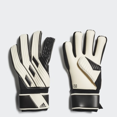 Football White Tiro League Goalkeeper Gloves