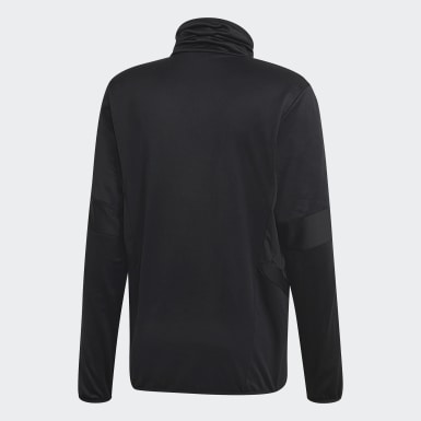 Heren Training Zwart Tiro 19 Warm Sweatshirt