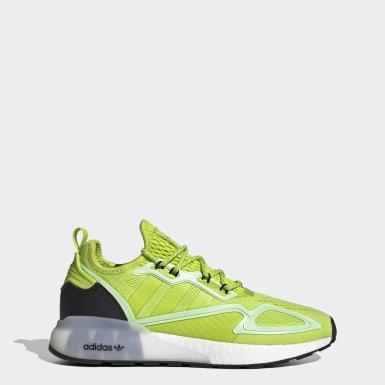 Men Originals Green ZX 2K Boost Shoes