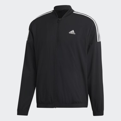 Men Athletics Black Light Woven Track Suit