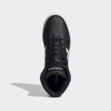Sapatos Hoops 2.0 Mid Preto Basquetebol