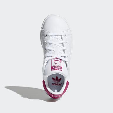 Children Originals White Stan Smith Shoes