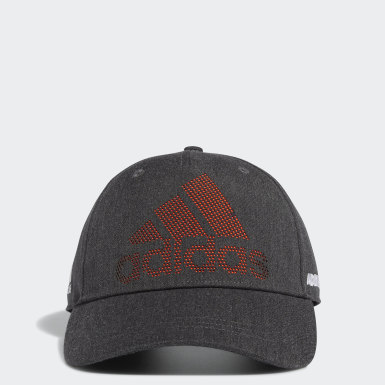 Men Golf Grey Laser Logo Cap
