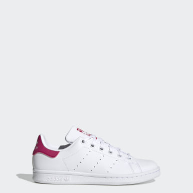 Kids Originals White Stan Smith Shoes