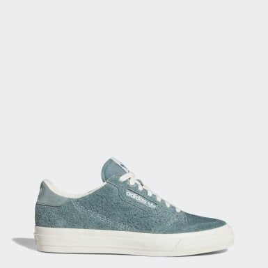 Women Originals Green Continental Vulc Shoes