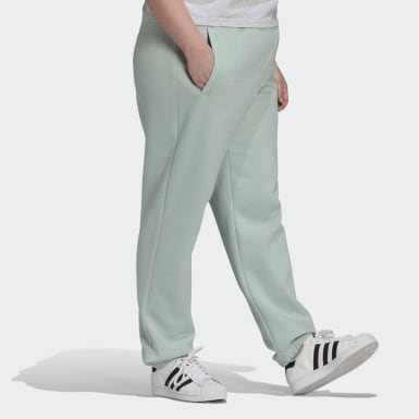 Pantaloni Cuffed Verde Donna Originals