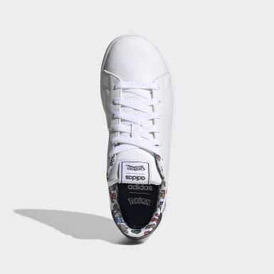 Kinder Training Advantage Schuh Weiß