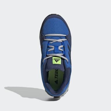 Kinderen TERREX blauw Terrex Hyperhiker Low Hiking Schoenen
