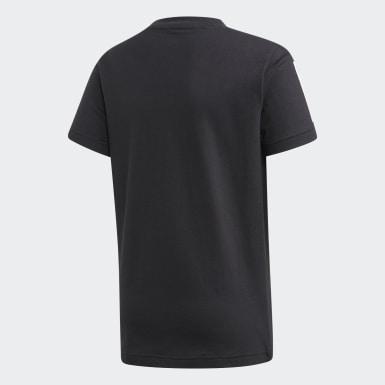 T-shirt Sport ID Noir Garçons Training