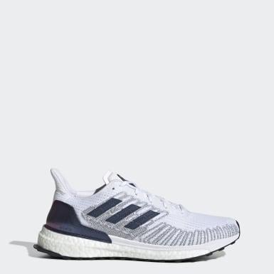 Kvinder Løb Hvid Solarboost ST 19 sko