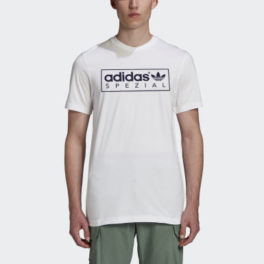 Heren Originals Wit SPZL T-shirt