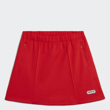 Women's Originals Red Lotta Volkova Tennis Skirt