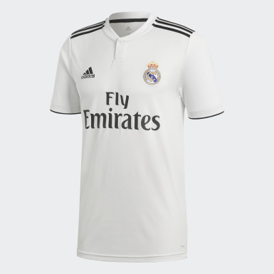 Maillot Real Madrid Domicile Blanc Hommes Football