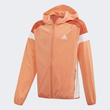 оранжевый Ветровка adidas Athletics Club
