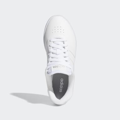 Women Sport Inspired White Court Bold Shoes