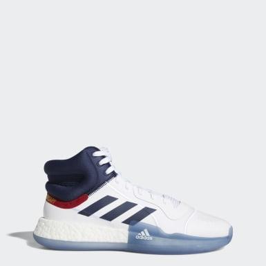 Kvinder Basketball Hvid Marquee Boost sko