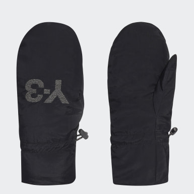 Y-3 Black Y-3 CH3 Mitten Gloves