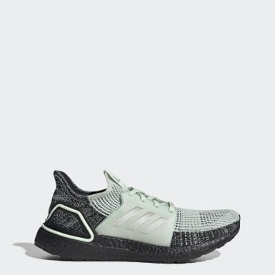 Men Running Green Ultraboost 19 Shoes