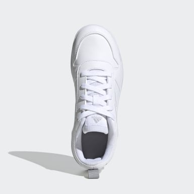 Kids Running White Tensaur Shoes