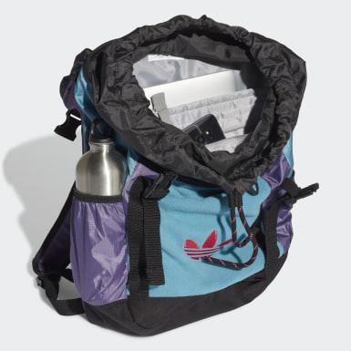 Mochila Premium Essentials Toploader Azul Originals