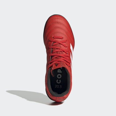 Boys Fodbold Rød Copa 20.3 Turf støvler