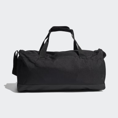 Lifestyle Black Essentials Logo Duffel Bag Medium
