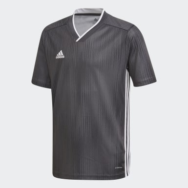 Youth Soccer Grey Tiro 19 Jersey