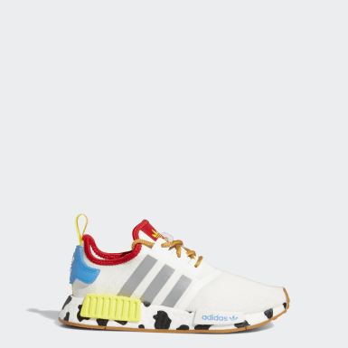 Youth Originals White NMD_R1 x Jessie Toy Story Shoes