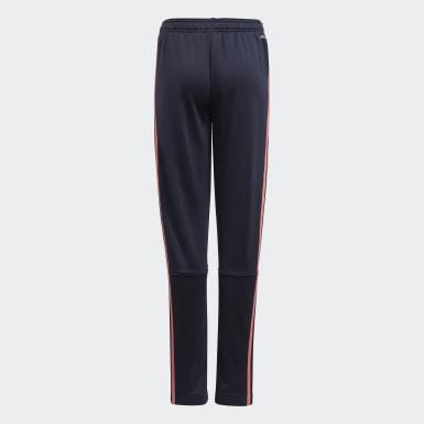 Pantaloni adidas Designed To Move 3-Stripes Blu Ragazza Athletics