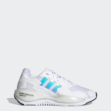 Women Originals White ZX Alkyne Shoes