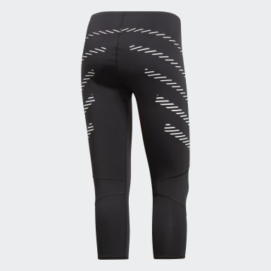 Women Running Black How We Do Speed 3/4 Tights