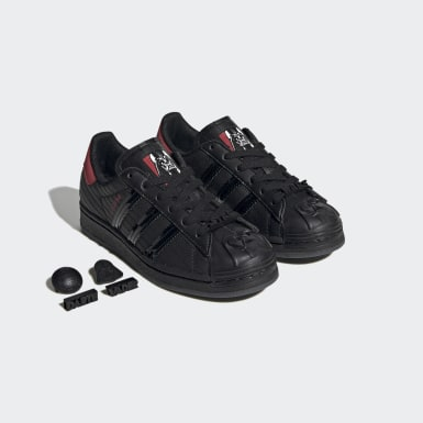 Youth Originals Black Superstar Star Wars Darth Vader Shoes