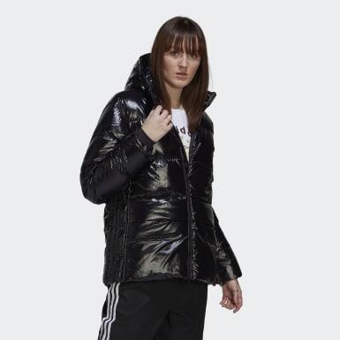 Γυναίκες Originals Μαύρο Glossy A-Shape Down Puffer Jacket