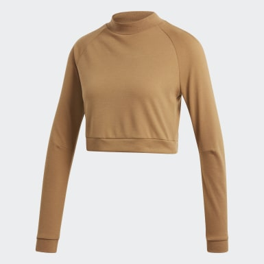 ID Cropped Long-Sleeve Top