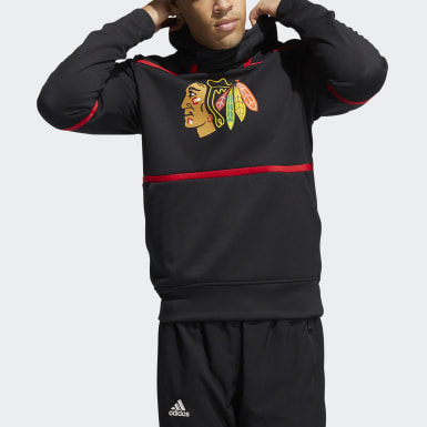 Men's Hockey Multicolor Blackhawks Under the Lights Hoodie