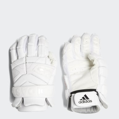 Men's Lacrosse White Freak Gloves