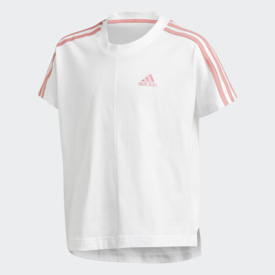 T-shirt 3-Stripes Blanc Filles Training