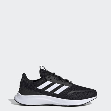 Men Running Black Energyfalcon Shoes