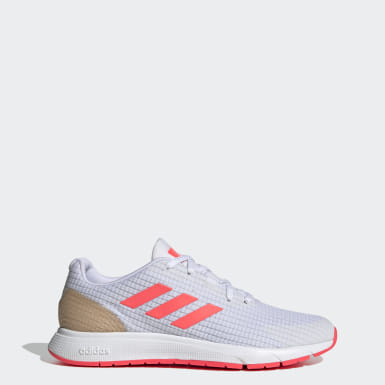 Women Running White Sooraj Shoes