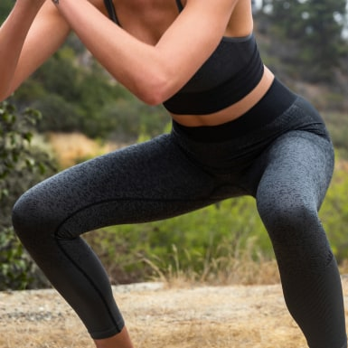 Legging Believe This Primeknit FLW Preto Mulher Training