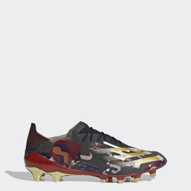 Men Football Black X Ghosted.1 Artificial Grass Boots
