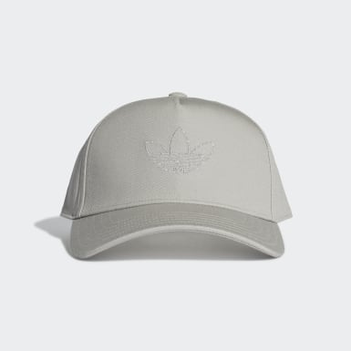 Originals Grey Trefoil Trucker Cap