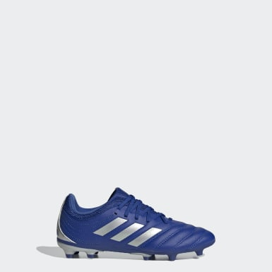 Kids Football Blue Copa 20.3 Firm Ground Boots