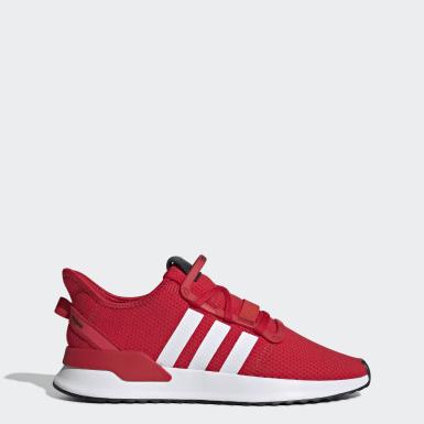 Sapatos U_Path Run Vermelho Homem Originals