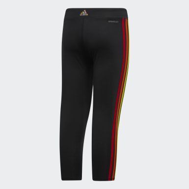 Youth Training Black PRIDE TIGHT 7/8 LENGTH