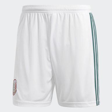 Shorts Mexico Home Replica Blanco Hombre Fútbol