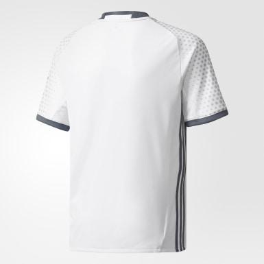 Réplica de la tercera camiseta del Manchester United FC Blanco Niño Fútbol
