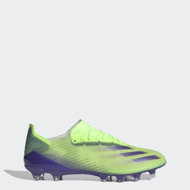 Fotbal zelená Kopačky X Ghosted.1 Artificial Grass